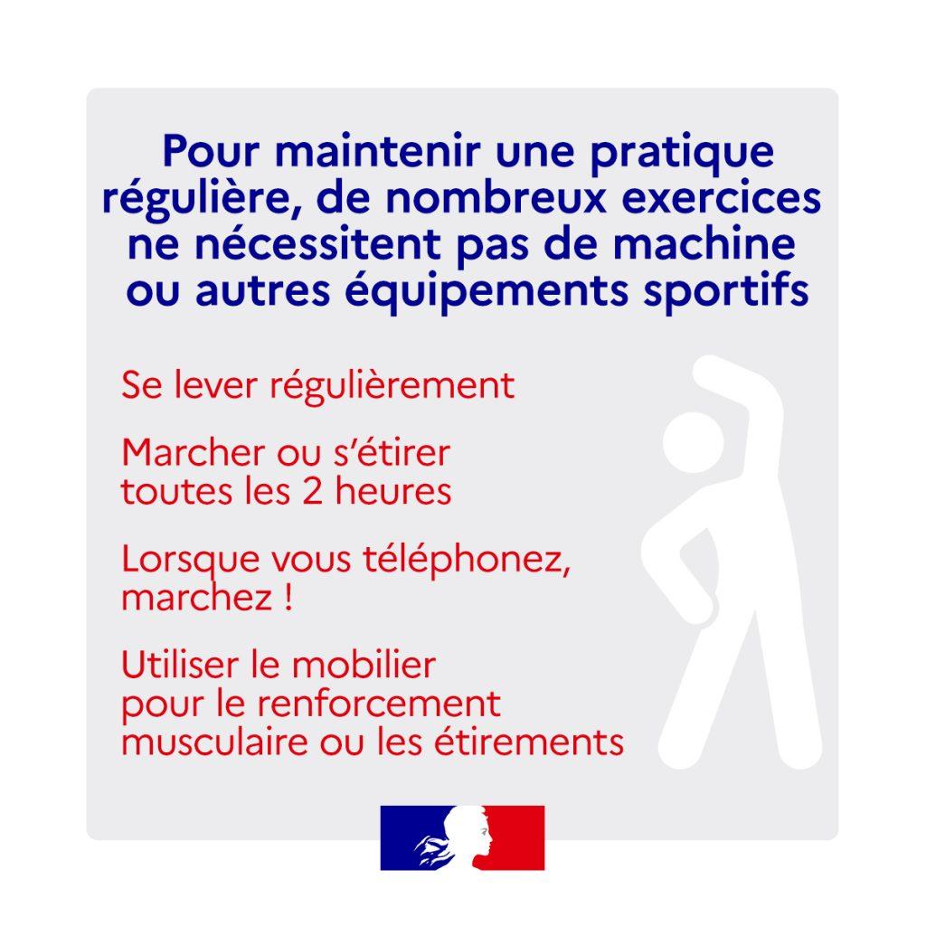 3 sport à la maison